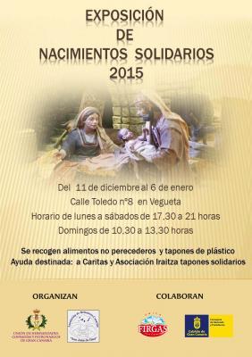 exposicion de nacimientos solidarios 2015