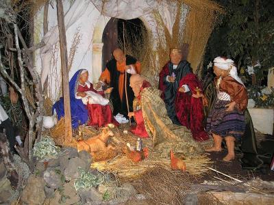 Navidad 2005  Belen del Ayuntamiento de los Realejos (Tenerife)
