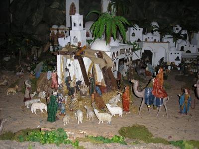 NACIMIENTO DE LA IGLESIA DE ICOD  DE LOS VINOS (TENERIFE)