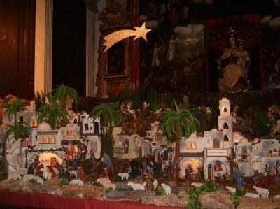 NACIMIENTO IGLESIA DE SAN MARCOR ICOD DE LOS VINOS