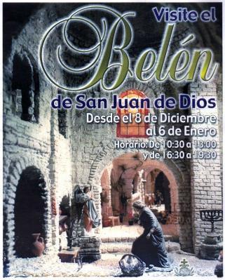 CARTEL DEL BELÉN DE SAN JUAN DE DIOS