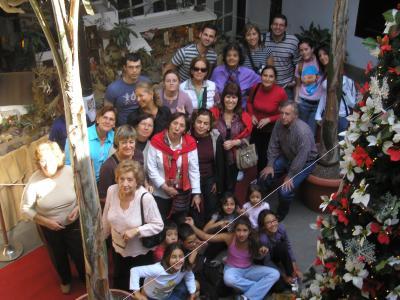 RUTA DE  BELENES DEL COLEGIO DE ENFERMERIA