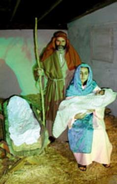La representación del Belén Viviente de Tigaiga cumplió 35 años.