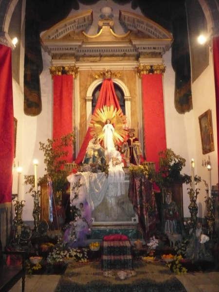 NACIMIENTO DEL SALVADOR EN SANTA CRUZ DE LA PALMA