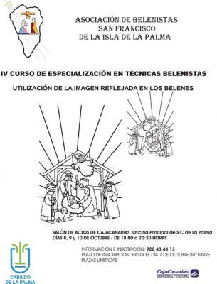 Empiezan los cursos de belenistas. en  Santa Cruz De La Palma