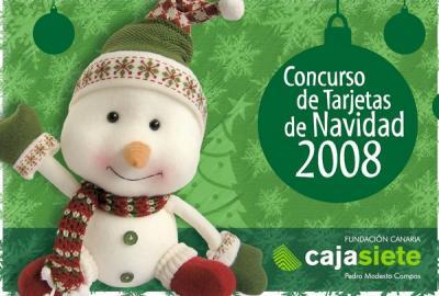 Cajasiete organiza el primer concurso de tarjetas navideñas