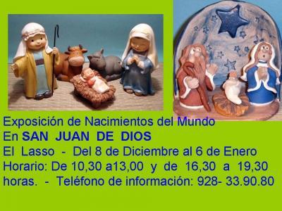 EXPOSICIÓN DE NACIMIENTOS DEL MUNDO