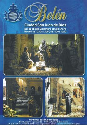 CARTEL DEL BELEN DE SAN JUAN DE DIOS