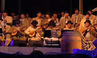 El concierto tradicional de Los Gofiones, en Santa Ana y en la televisión
