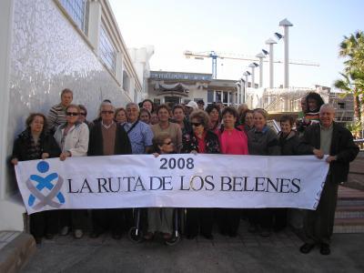 EL  COLEGIO DE ENFERMERÍA DE LAS PALMAS DE RUTA  A LOS BELENES
