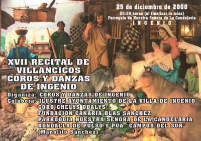 XVII Recital de Villancicos