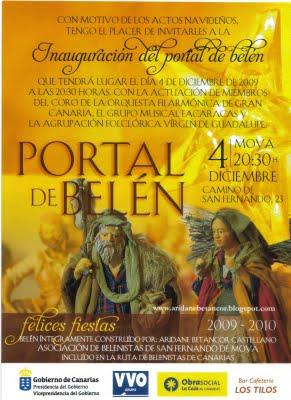 PORTAL DE BELÉN DE ARIDANE BETANCOR