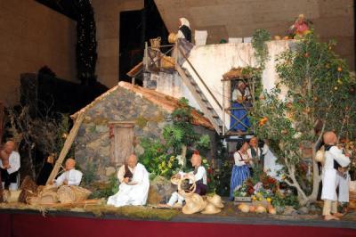 Inauguran los primeros Belenes de la Navidad 2009