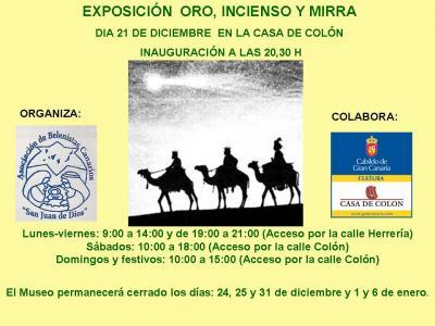 EXPOSICIÓN DE FIGURAS DE LOS REYES MAGOS EN LA CASA DE COLÓN