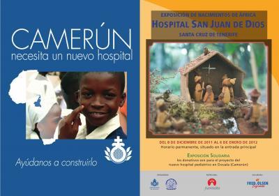 EXPOSICION DE BELENES DE AFRICA EN EL HOSPITAL DE SAN JUAN DE DIOS DE TENERIFE
