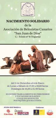 NACIMIENTO DE LA ASOCIACIÓN DE BELENISTAS CANARIOS SAN JUAN DE DIOS