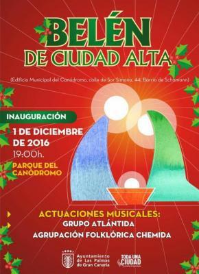INAUGURACIÓN DEL BELÉN DE CIUDAD ALTA