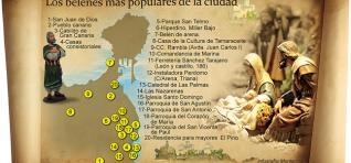Mapa de Belenes de Las Palmas de Gran Canaria